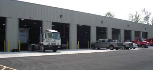 Baldwinsville, NY shop facility exterior